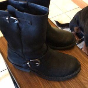 Durango Moto leather boots soft durable